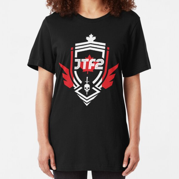 JTF2 - Canadian Skin [Roufxis - RB] Slim Fit T-Shirt