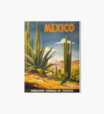 Weinleseplakat - Mexiko Galeriedruck