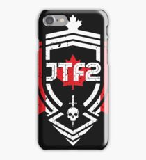 JTF2 - Canadian Skin / Gritty iPhone Case/Skin