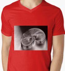 A Metal Coil Makes a Fun Toy Mens V-Neck T-Shirt