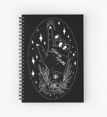 Fear No Future Spiral Notebook