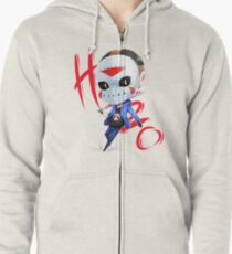 Chibi H2o Delirious Zipped Hoodie