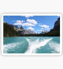 Maligne Lake Sticker