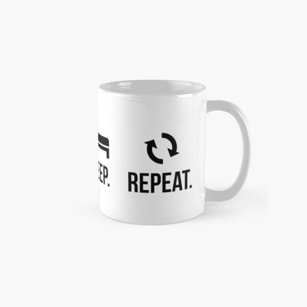 Eat. Sleep. Lift. Repeat. Classic Mug