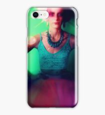 Drama queen in color iPhone Case/Skin