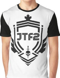 JTF2 - Black Graphic T-Shirt