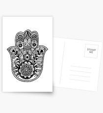 The Hamsa Hand Postcards