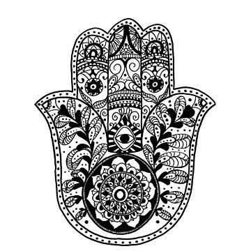 The Hamsa Hand by caromazing