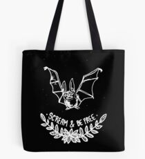 Scream & Be Free Tote Bag