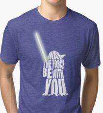 Yoda - Star Wars Tri-blend T-Shirt