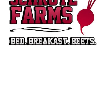 Schrute farms beets. Bed, breakfast beets. von King84