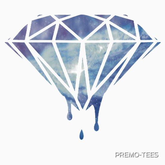 Drippin Diamond: Dripping Diamond: Stickers