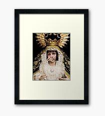 VIRGIN MIA Framed Print