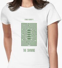 The Shining film poster Women's Fitted T-Shirt