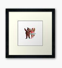 Walrus Pair Framed Print