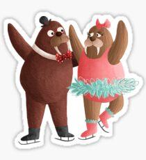 Walrus Pair Sticker