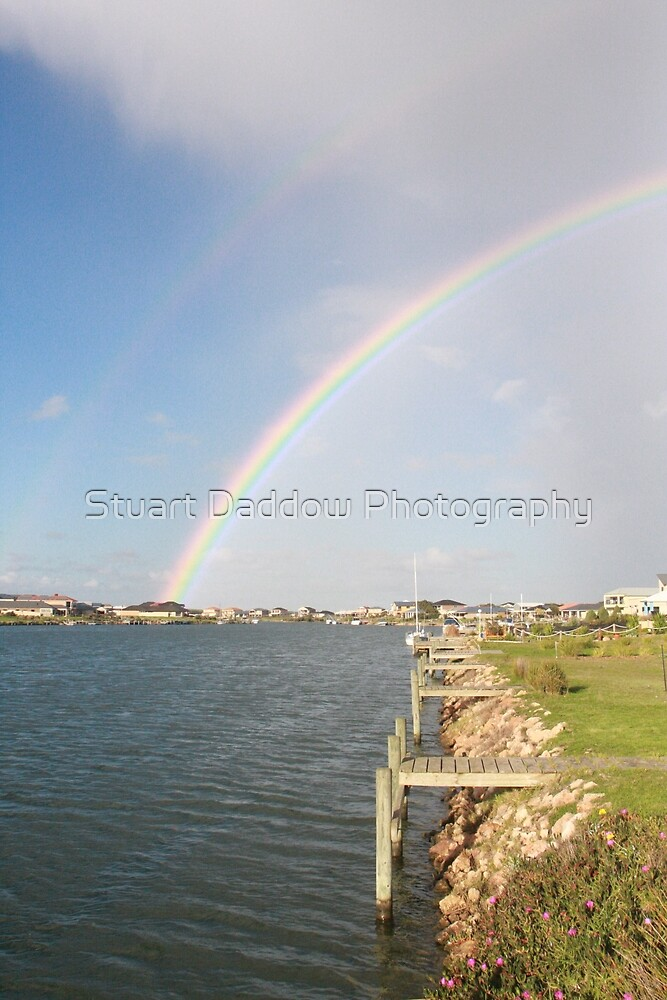 Island Rainbow by Stuart Daddow Photography