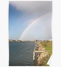 Island Rainbow Poster