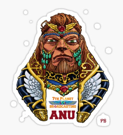 Anu  Sticker