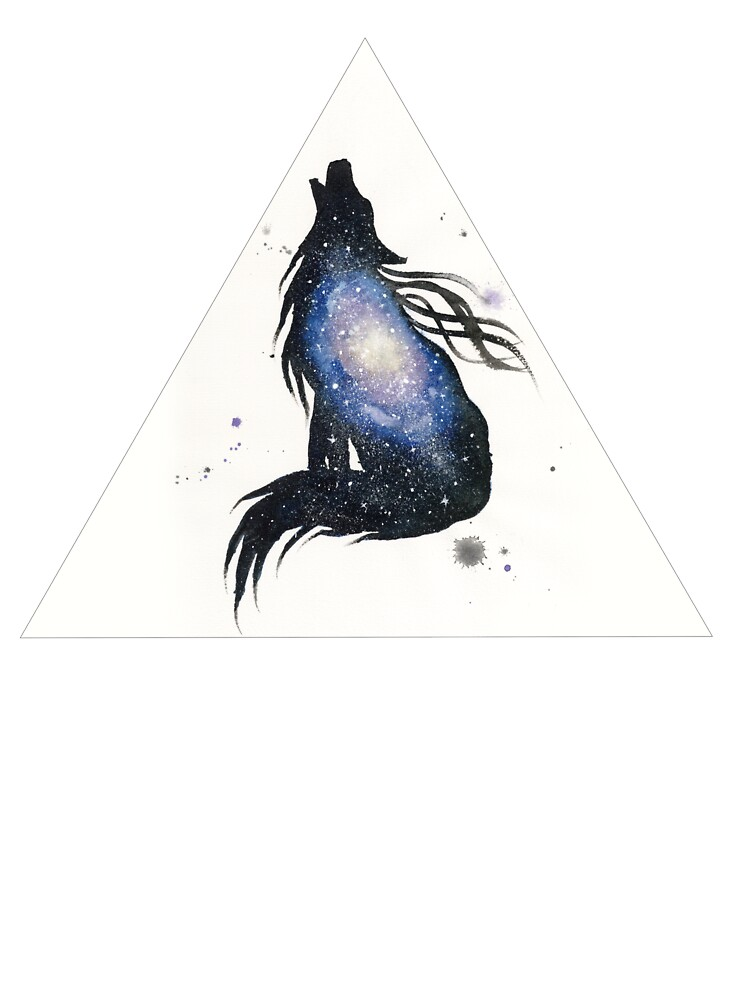 Milky Way Wolf by creaturesofnat