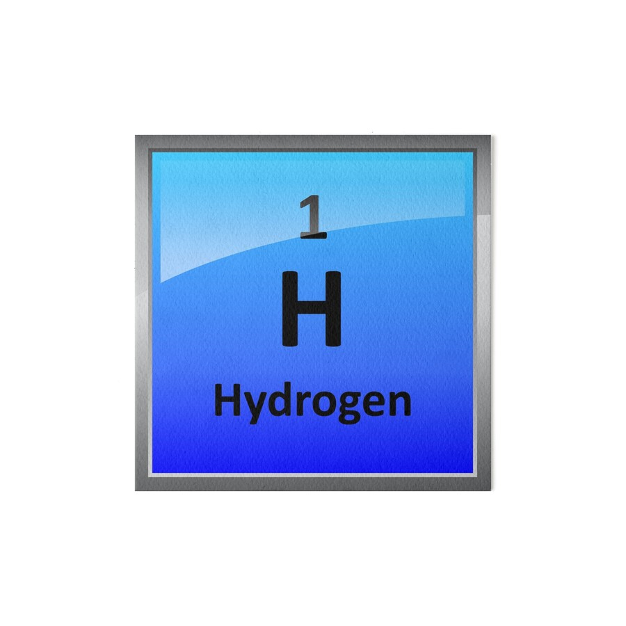 Hydrogen element tile periodic table art boards by sciencenotes hydrogen element tile periodic table by sciencenotes gamestrikefo Choice Image