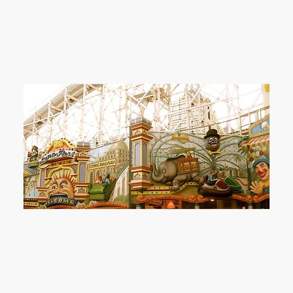 Luna Park, Saint Kilda Photographic Print