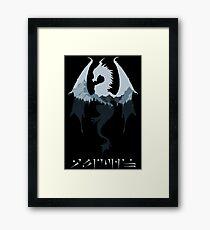 Dragon - Skyrim Framed Print