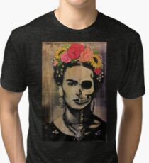 Camiseta de tejido mixto Frida