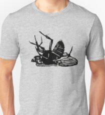 Dead Fly linocut Unisex T-Shirt