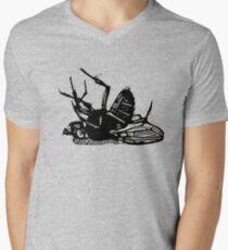Dead Fly linocut T-Shirt
