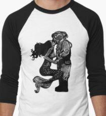 Camiseta ¾ bicolor para hombre Mi amor bajo el agua