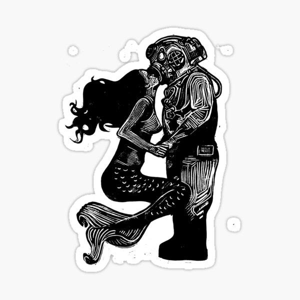 My Underwater Love Sticker