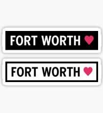 Fort Worth Sticker