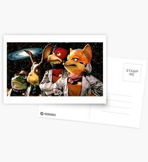 The Pride of Corneria Postcards