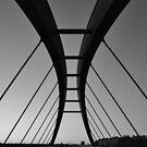 Schwedter footbridge by metronomad