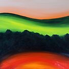Experimental landscape 5 by Mike Paget