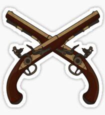 Flintlock Pistols Sticker