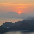 Sunrise over Cristo Rei by Werner Padarin
