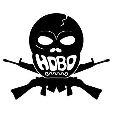 H0b0Warri0r Logo by PaperGoblin