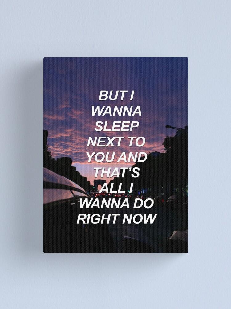 Ich möchte mit dir schlafen