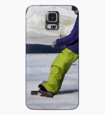 Snowboarder Finishing Stop Hülle & Skin für Samsung Galaxy