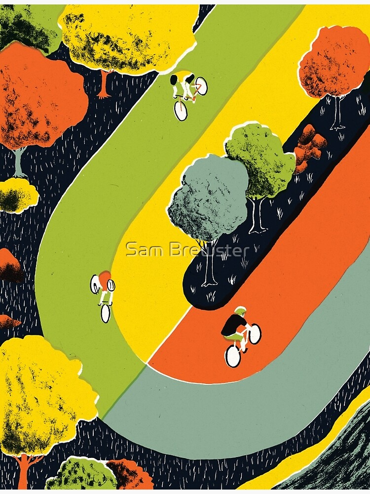 Bicycle race by sambrewster