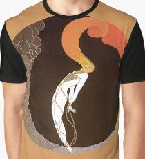 "Art Deco Design by Erte ""Emotions - Love"" Graphic T-Shirt"