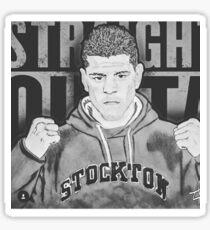 Nick Diaz Sticker