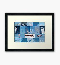 Red Arrows 2014 - 50 Display Seasons Framed Print