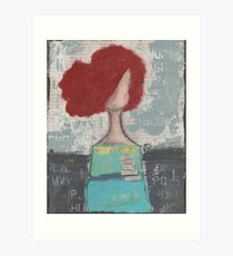 Trusting with her heart Art Print