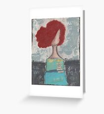 Trusting with her heart Greeting Card