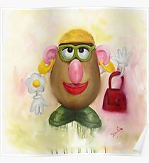 Mrs Potato Head - she's found her eyes! Poster