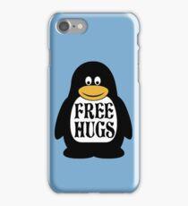 Hugs the Penguin iPhone Case/Skin