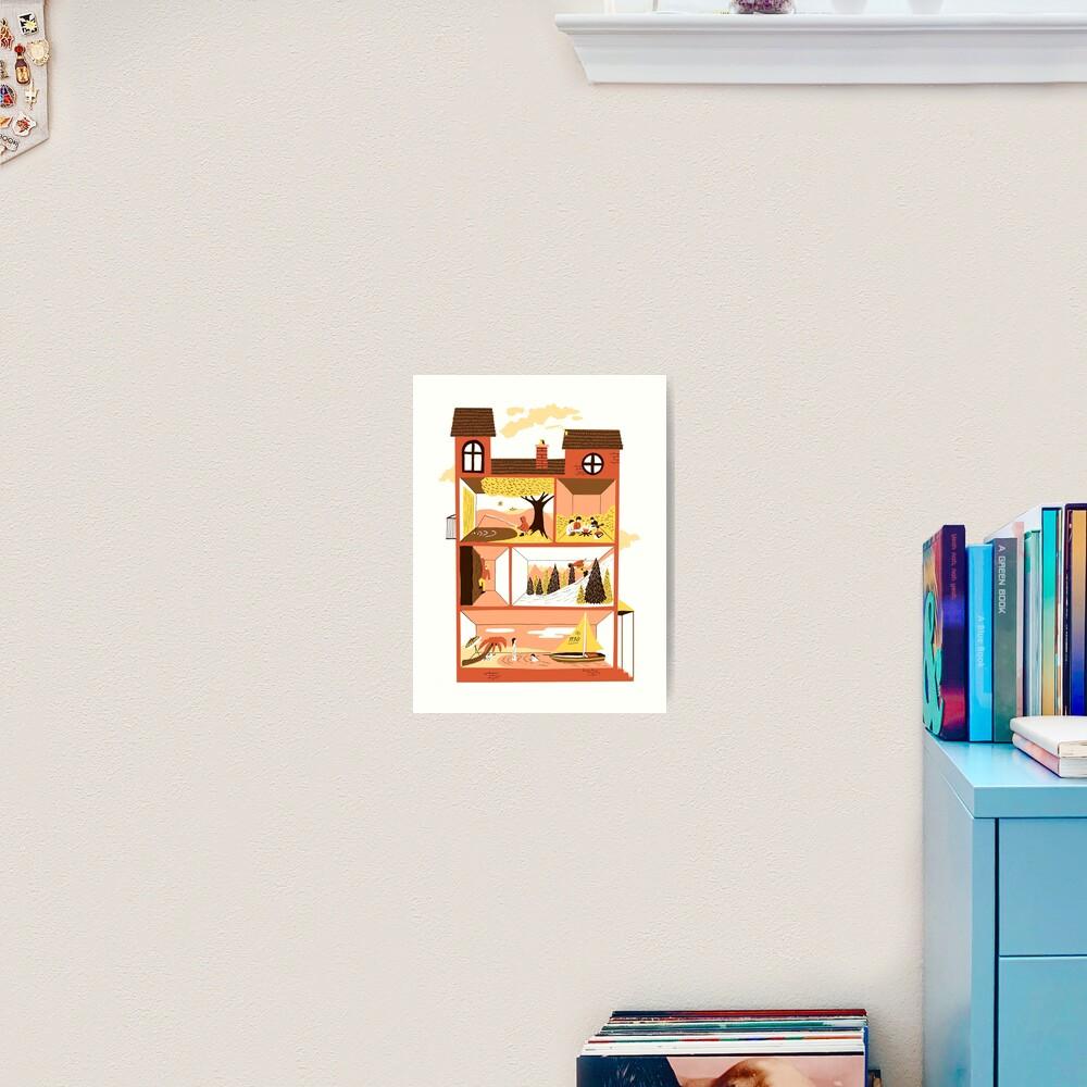 Staycation Art Print